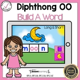 Boom Cards Diphthong OO Build a Word