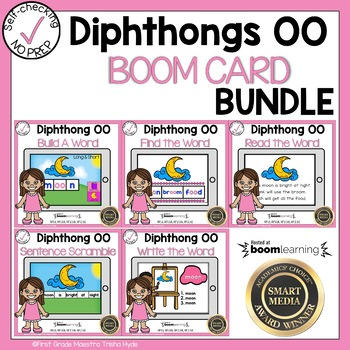 Boom Cards Diphthong OO Bundle