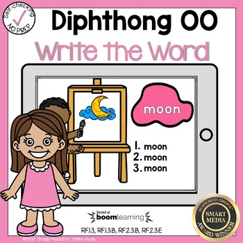 Boom Cards Diphthong OO Write the Word