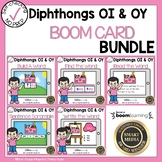 Boom Cards Diphthongs OI and OY Bundle