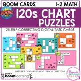 Boom Cards™ 120s Chart Puzzles