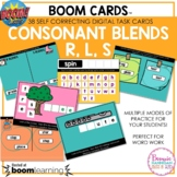Boom Cards™ Consonant Blends R, L, S