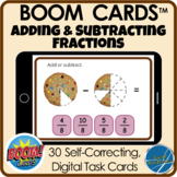 Boom Cards™ Distance Learning - Cookie Adding and Subtract