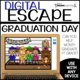 End of Year Digital Escape Graduation Day Boom Cards™ Dist