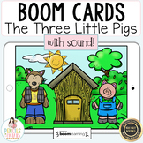 Three Little Pigs Boom Cards™   Digital & Printable Fairy