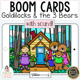 Goldilocks and the Three Bears   Digital Boom Cards™ & Pri