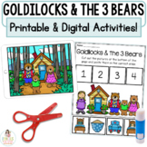 Goldilocks and the Three Bears Boom Cards for Distance Learning