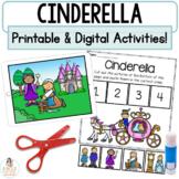 Cinderella Boom Cards™   Digital & Printable Fairy Tale Retell Activities