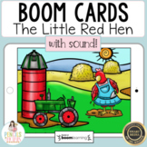 Little Red Hen Boom Cards™   Distance Learning
