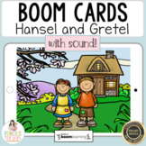 Hansel and Gretel Digital Boom Cards™ & Printable Activities | Fairy Tale Retell