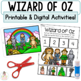 Wizard of Oz Boom Cards™   Digital & Printable Fairy Tale Retell Activities