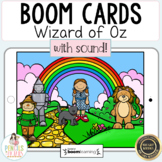 Wizard of Oz Boom Cards™   Distance Learning