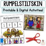 Rumpelstiltskin Boom Cards™   Digital & Printable Fairy Tale Retell Activities