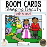 Sleeping Beauty   Digital Boom Cards™ & Printable Fairy Tale Retell Activities