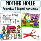 Digital & Printable Fairy Tale Retell Activities   Mother Holle Boom™ Cards