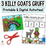 Three Billy Goats Gruff Boom Cards™   Distance Learning