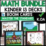 Boom Cards Distance Learning BUNDLE CCSS K.0A KINDERGARTEN