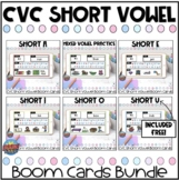 CVC Short Vowel Boom Card Bundle