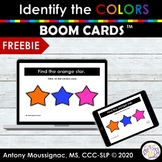 Boom Cards™ Distance Learning | Identify the Colors Freebie