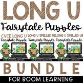 Boom Cards Distance Learning Long I Puzzles Bundle U_E, UI