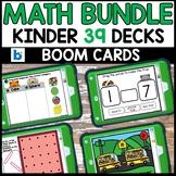 Kindergarten Math Review Boom Cards | Kindergarten Boom Ca