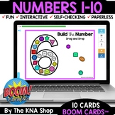 Boom Cards™ Distance Learning | Numbers 1-10 | Teacher App