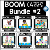 Boom Cards Distance Learning Speech Therapy Bundle #2 | Language Activities