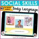 BOOM Cards | Digital Speech Therapy | Social Skills Body Language