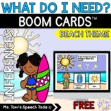 Boom Cards™ Distance Learning | What Do I Need Freebie: Be