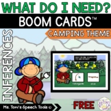 Boom Cards™ Distance Learning | What Do I Need Freebie: Ca