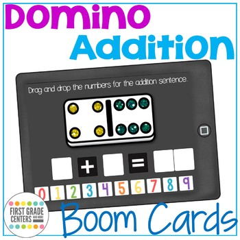 Boom Cards Domino Addition