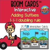 Boom Cards™ - Doubling 1-1-1 Adding Suffix Digital Distanc