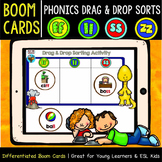 Boom Cards   Drag and Drop Sorts   Double Consonant Endings (ff, ll, ss, zz)
