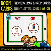 Boom Cards | Drag and Drop Sorts | Silent Letters (wr-gn)