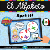 Boom Cards™ EL ALFABETO Spot it! Game | Alphabet in Spanish | Distance Learning