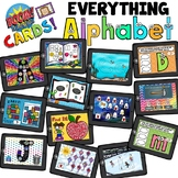Boom Cards - EVERYTHING Alphabet - Distant Learning
