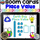 Boom Cards Earth Day Place Value Tens and ones