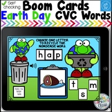 Boom Cards Earth Day Recycling CVC Words