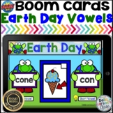 Boom Cards Earth Day  Short and Long Vowels with Silent E