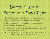 Boom Cards: Earth's Tilt & Seasons set (Google Classroom)