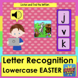Boom Cards Easter Alphabet Lowercase Letter Recognition Wi