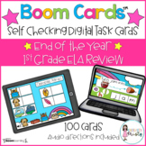 Boom Cards™  End of the Year 1st Grade ELA Review