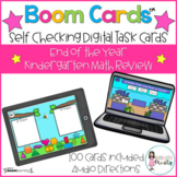 Boom Cards™  End of the Year Kindergarten Math Review