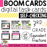 Boom Cards Equivalent Fractions bundle