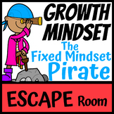 Boom Cards | Escape Room Growth Mindset Pirate | Distance