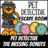 Boom Cards | Escape Room Pet Detective #1 Addition | Distance Learning