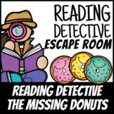 Boom Cards | Escape Room Reading Detective #1 Verbs| Dista