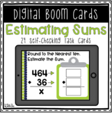 Boom Cards: Estimating Sums | Distance Learning