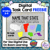 Boom Cards™ FREEBIE Name the 50 States Digital Task Cards