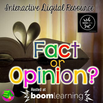 Boom Cards - Fact or Opinion